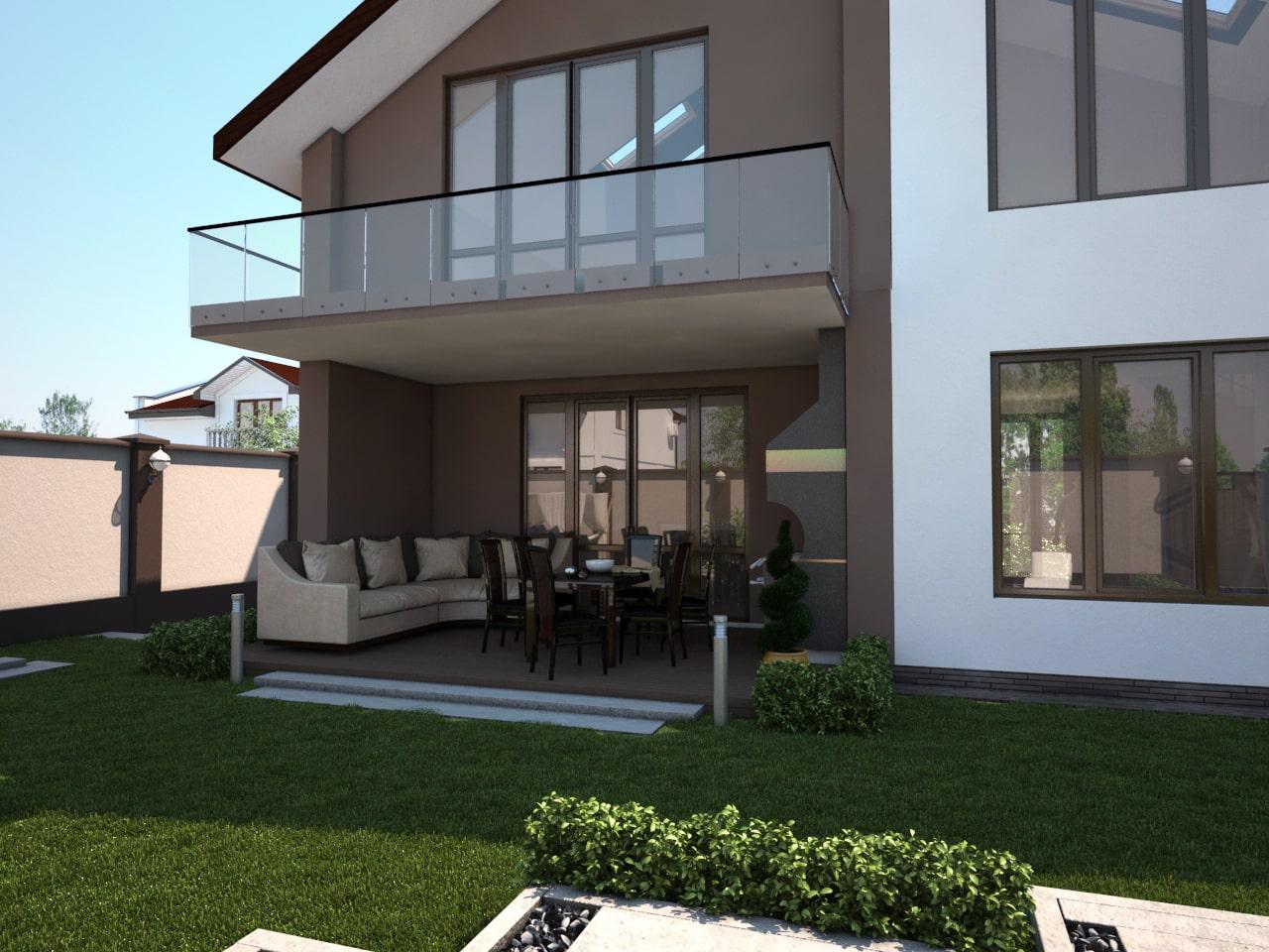 Двухэтажный дом -1