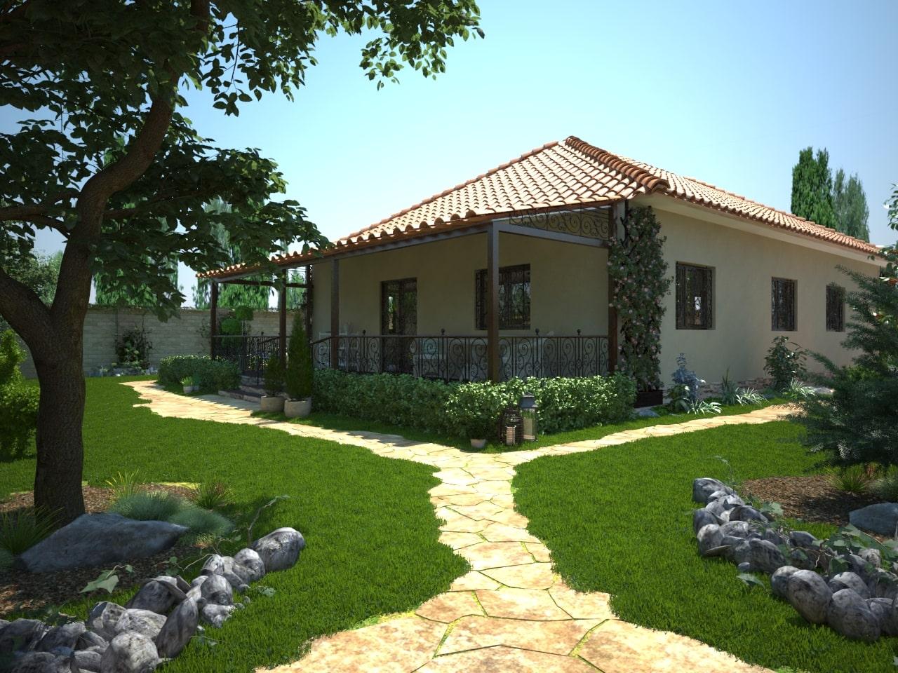 Одноэтажные дома-2