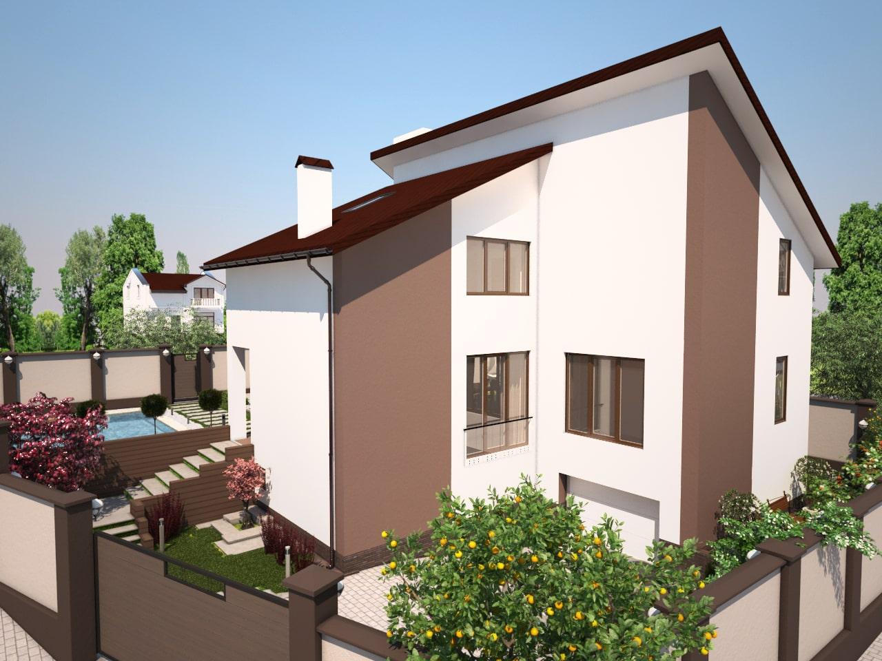 Двухэтажный дом -4